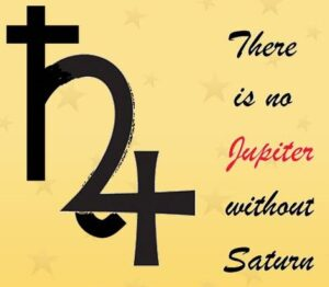 There is no Jupiter without Saturn